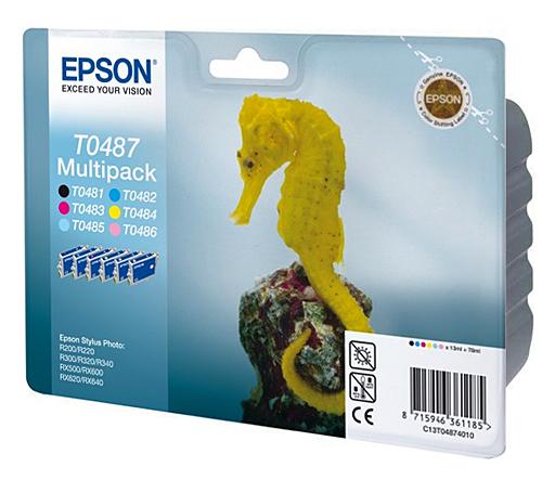 Epson T0487 multipack original