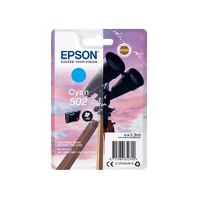 Epson 502 cyan ink cartridge original