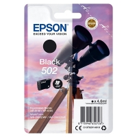 Epson 502 black ink cartridge original