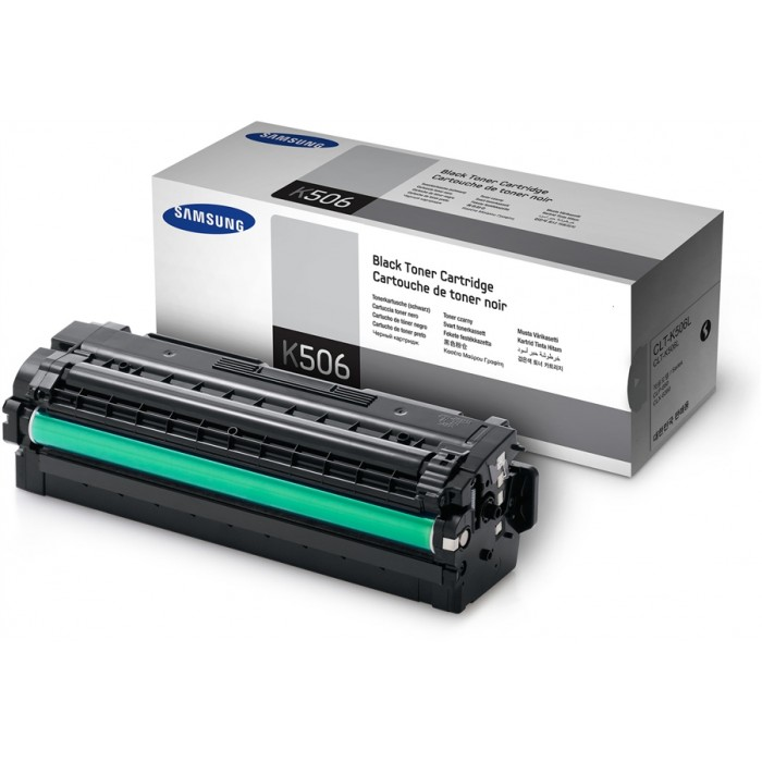 Samsung CLT-K506L high-cap black toner original