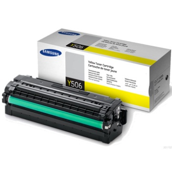 Samsung CLT-Y506L high-cap yellow toner original