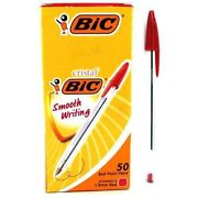 Red Pen Bic 50 Pack