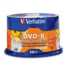 Verbatim DVD-R 50 Pack 4 Point 7Gb 120 Min