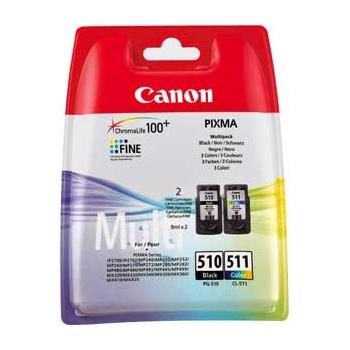 Canon PG-510 - Canon CL-511 black-colour 2-pack ORIGINAL