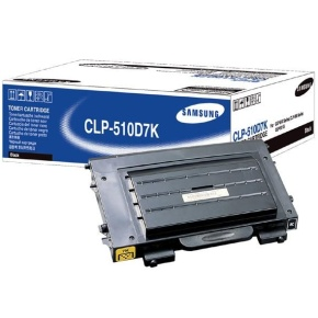 Samsung CLP-510D7K high capacity black toner ORIGINAL