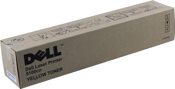 Dell HG308 yellow toner Original