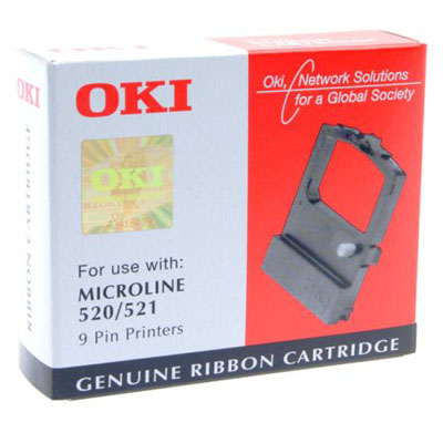 OKI 09002315 black ribbon cassette Original OKI