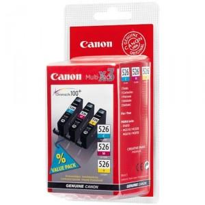 Canon CLI-526 3 pack Cyan Magenta Yellow Original