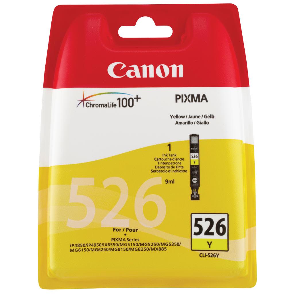 Canon CLI-526 Yellow Ink Cartridge Original