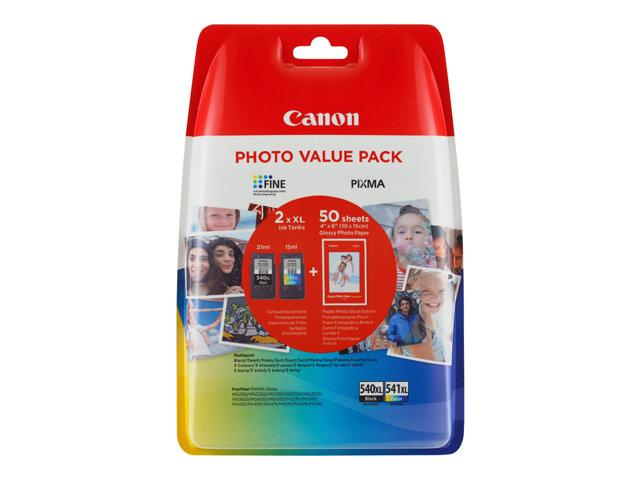 Canon PG-540XL CL541XL Cartridge Twin Pack Original