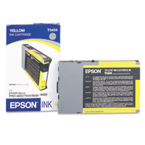 Epson T5434 Yellow Ink Cartridge Original - Epson 5434