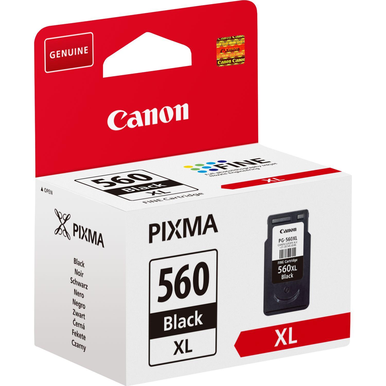 Canon PG-560XL high capacity black ink cartridge Original