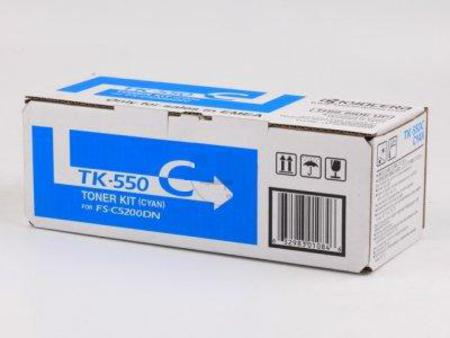 Kyocera TK-550C cyan toner original