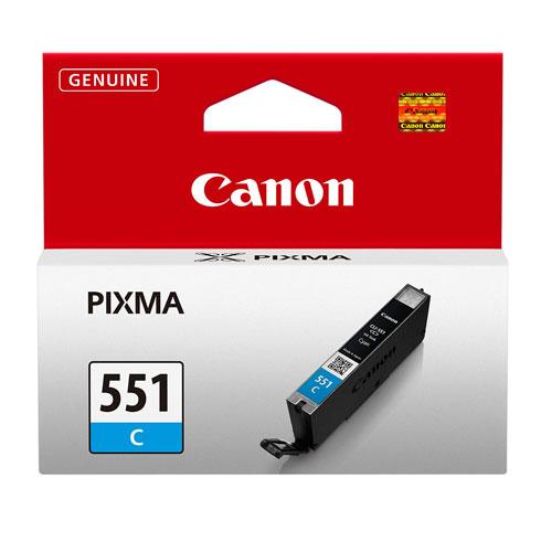 Canon CLI-551C cyan ink cartridge ORIGINAL