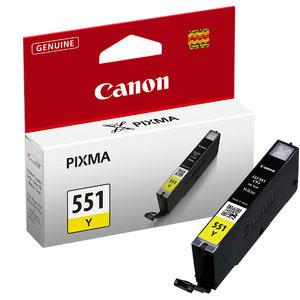 Canon CLI-551Y yellow ink cartridge ORIGINAL