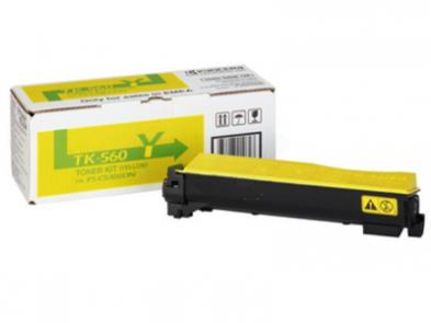 Kyocera TK-560Y yellow toner ORIGINAL