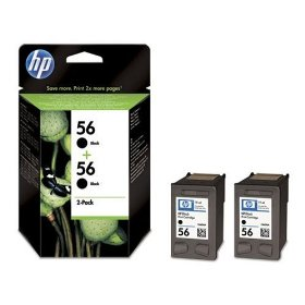 Hp 56 Black Original Twin Pack