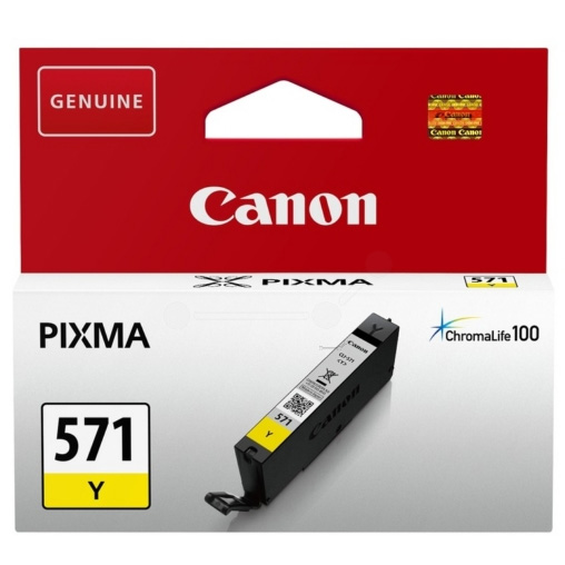 Canon CLI-571Y yellow ink cartridge Original Canon