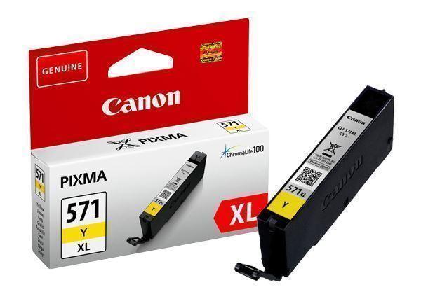 Canon CLI-571Y XL yellow high-cap ink cartridge Original Canon