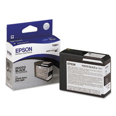 Epson T5801 Photo Black Cartridge Original Epson C13T580100