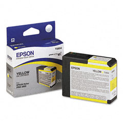 Epson T5804 Yellow Ink Cartridge Original - Epson C13T580400