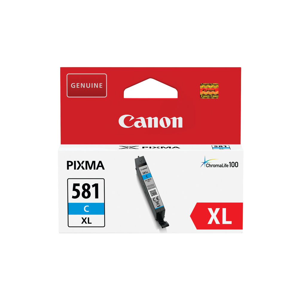 Canon CLI-581XL Cyan Ink Cartridge
