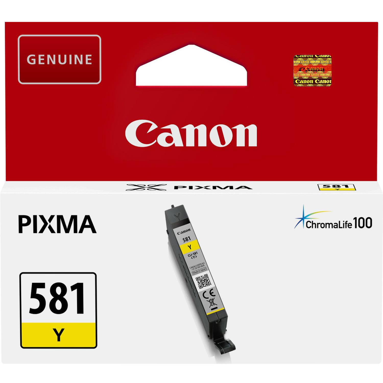 Canon CLI-581Y yellow ink cartridge original