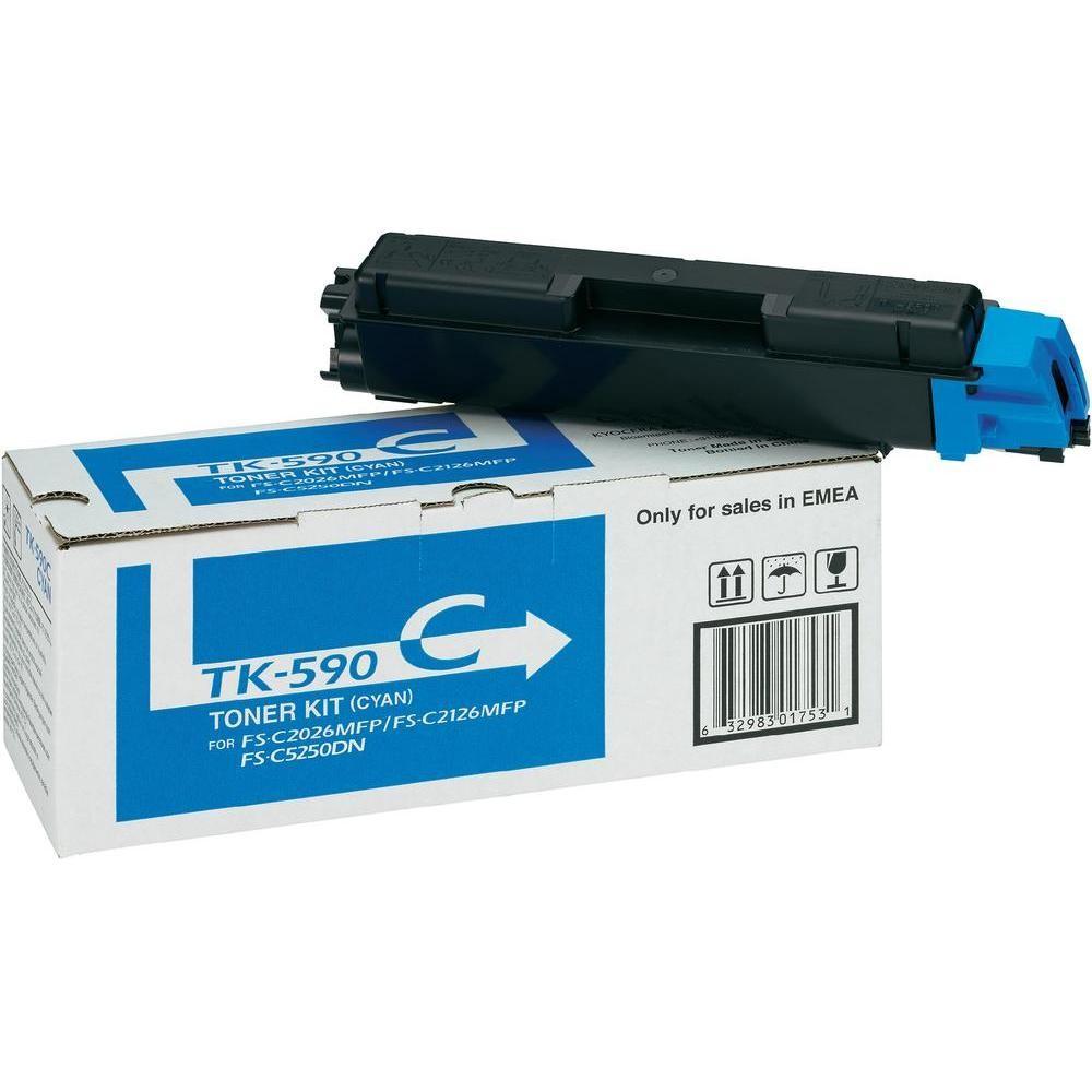 Kyocera TK-590C cyan toner original