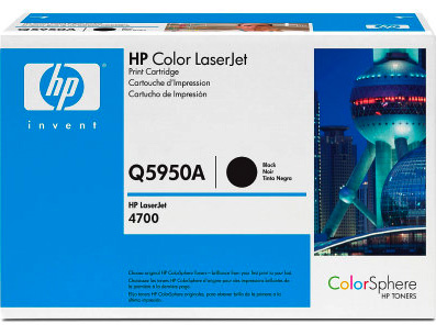 Hp Q5950A Black Toner Original