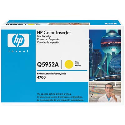 Hp Q5952A Yellow Toner Original
