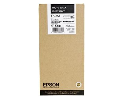 Epson T5961 photo black ink cartridge original