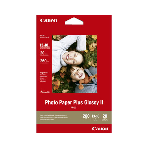 Canon 5x7 Glossy Plus Photo Paper Pack of 20