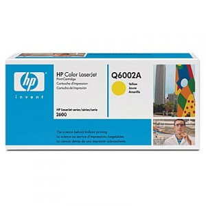 HP Q6002A yellow toner ORIGINAL - Hp 124A Yellow Toner