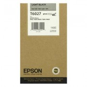 Epson T6027 standard capacity light black ink cartridge ORIGINAL