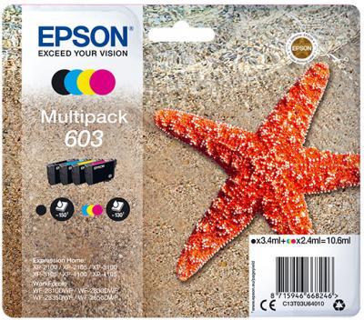 Epson 603 Multipack Original 4 Pack Ink