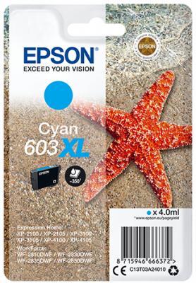 Original Epson 603 XL Cyan Ink Original