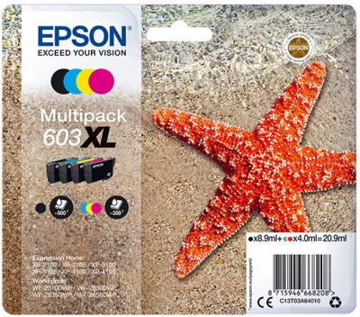 Epson 603 High Yield Multipack of Inks Original