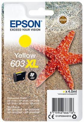 Epson 603 XL Yellow Ink Cartridge Original