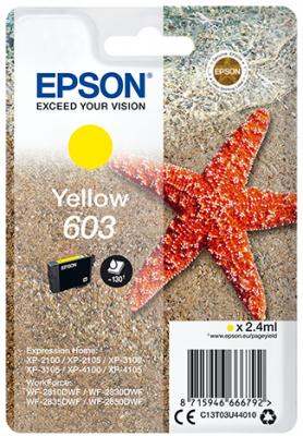 Epson 603 yellow ink cartridge original