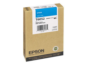 Epson T6052 cyan ink cartridge original