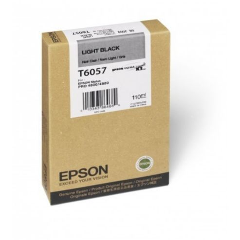 Epson T6057 light black ink cartridge original