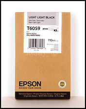 Epson T6059 light light black ink cartridge original