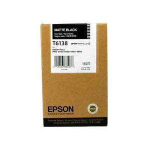 Epson T6138 matt black ink cartridge original