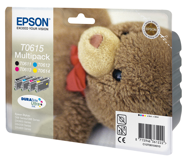 Epson 615 Multi Pack Original Ink cartridge