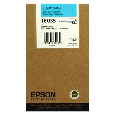 Epson T6035 light cyan ink cartridge original