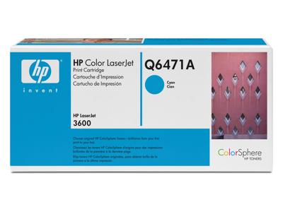 Hp Q6471A Cyan Toner Original
