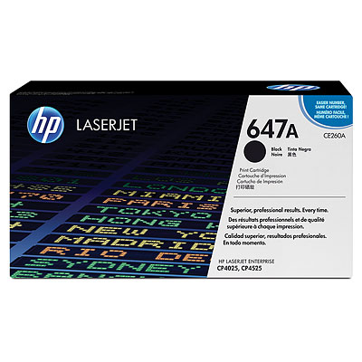 HP CE260A black toner ORIGINAL -Hp 647A Toner Original