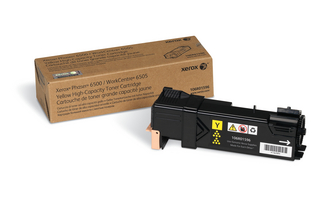 Xerox 106R01596 high capacity yellow toner original Xerox