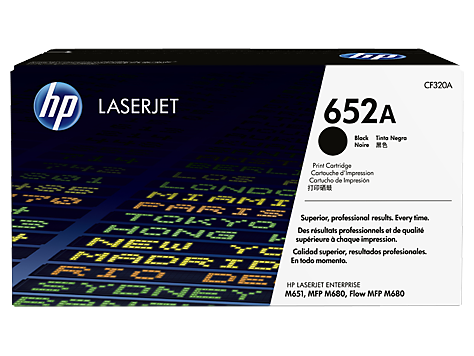 HP 652A black toner Original HP CF320A