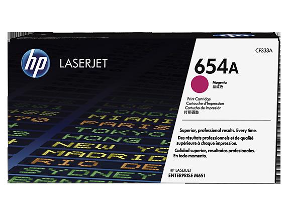 HP 654A magenta toner Original HP CF333A
